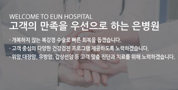 명성 높은 내시경 수술 전문 은병원
